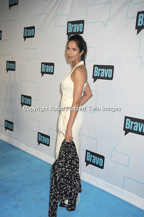 Padma Lakshmi attends the Bravo Upfront on April 4, 2012 at 548 West 22nd Street in New York City.