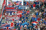 22.08.2019 Legia Warsaw v Rangers: Rangers fans