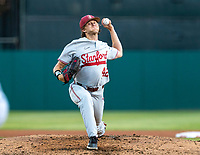 STANFORD, CA - JUNE 7: Austin Weiermiller during a game between UC Irvine and Stanford Baseball at Sunken Diamond on June 7, 2021 in Stanford, California.