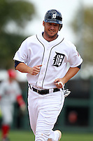 Detroit Tigers Ryan Raburn #25 during a exhibition game vs. the Florida Southern Mocs at Joker Marchant Stadium in Lakeland, Florida;  February 25, 2011.  Detroit defeated Florida Southern 17-5.  Photo By Mike Janes/Four Seam Images