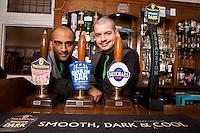 Dhiran Mehta and Ben Spray of the Star pub in Beeston, Nottingham