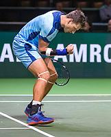 Rotterdam, The Netherlands, 11 Februari 2019, ABNAMRO World Tennis Tournament, Ahoy, first round doubles: Artem Sitak (NZL),<br /> Photo: www.tennisimages.com/Henk Koster