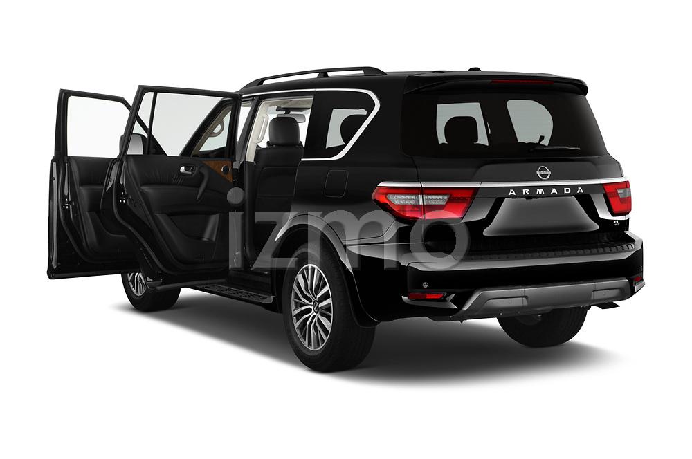 Car images of 2021 Nissan Armada SL 5 Door SUV Doors