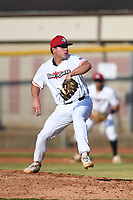 Zachary Rice (35) (Southeastern) of the Bristol State Liners during a game against the Kingsport Axemen on June 13, 2021 at Boyce Cox Field in Bristol, Virginia. (Tracy Proffitt/Four Seam Images)