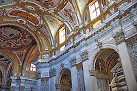The church interior of Santa Maria Assunta, known as I Gesuiti,