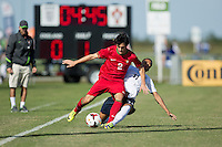 Lakewood Ranch, Fla. - December 13, 2013: 2013 US Soccer U17 Nike International Friendlies. England defeated Portugal 4-3 at the Premier Sports Campus.