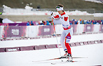 Sochi, RUSSIA - Mar 8 2014 -  Caroline Bisson competes in the 6km Standing biathlon at 2014 Paralympic Winter Games in Sochi, Russia.  (Photo: Matthew Murnaghan/Canadian Paralympic Committee)