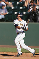 June 5, 2010: Anthony Gallas of Kent State during NCAA Regional game against UC Irvine at Jackie Robinson Stadium in Los Angeles,CA.  Photo by Larry Goren/Four Seam Images