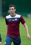St Johnstone FC Training...<br /> Joe Shaughnessy<br /> Picture by Graeme Hart.<br /> Copyright Perthshire Picture Agency<br /> Tel: 01738 623350  Mobile: 07990 594431