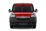 Car photography straight front view of a 2015 Opel COMBO LiHI 4 Door Cargo Van 2WD Front View