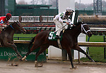 November 28, 2015 Annabelle (Shaun Bridgmohan) wins the 1st race at Churchill Downs, a one mile allowance race for two year old fillies. Owner Mark D. Breen, trainer Brad H. Cox. By Uncle Mo x Jacky Halo (Southern Halo.) ©Mary M. Meek/ESW/CSM