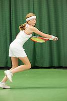 15-3-09, Rotterdam, Nationale Overdekte Jeugdkampioenschappen 12 en 18 jaar, Maartje Basten