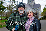 Enjoying a stroll in the Killarney National park on Friday, l to r: Tom Allen and Maria Malone.
