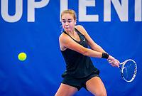 Amstelveen, Netherlands, 17  December, 2020, National Tennis Center, NTC, NK Indoor, National  Indoor Tennis Championships,   :  Bente Spee (NED) <br /> Photo: Henk Koster/tennisimages.com
