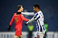3rd January 2021; Dragao Stadium, Porto, Portugal; Portuguese Championship 2020/2021, FC Porto versus Moreirense; Evanilson of FC Porto celebrates his goal in the 91st minute 3-0