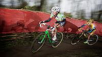 Sophie de Boer (NLD) followed by Pavla Havlikova (CZE/Telenet-Fidea)<br /> <br /> Flandriencross Hamme 2014
