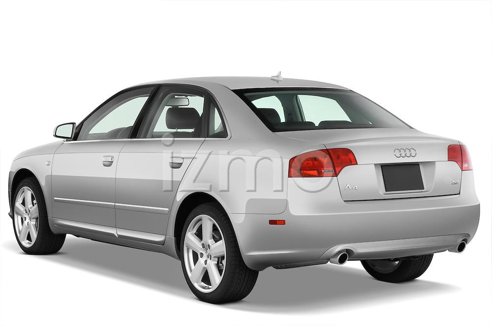 Rear three quarter view of a 2005 - 2008 Audi A4 3.2 Sedan.