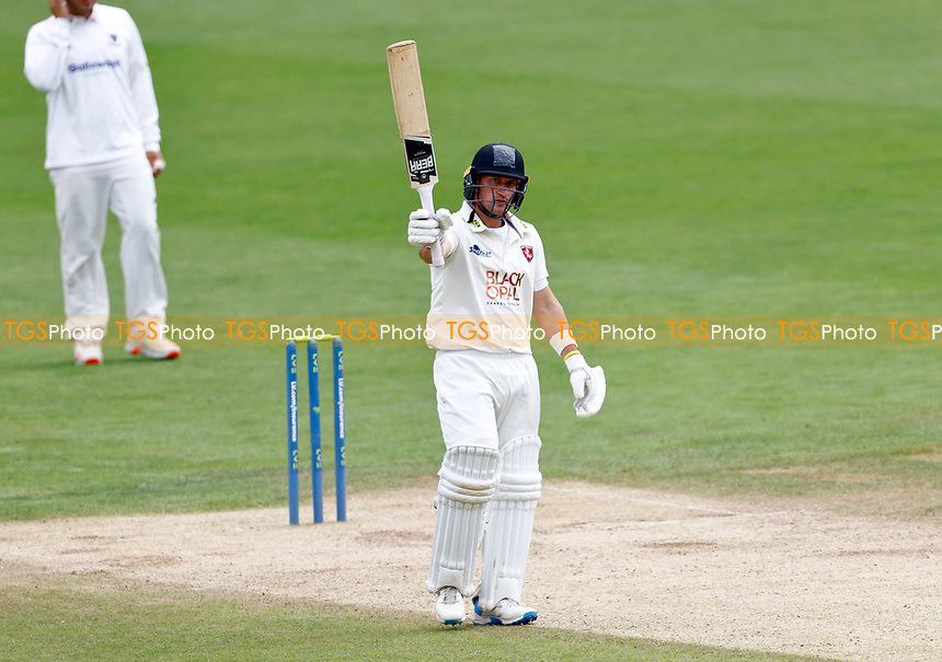 Fifty For Harry Finch of Kent during Kent CCC vs Sussex CCC, LV Insurance County Championship Group 3 Cricket at The Spitfire Ground on 14th July 2021