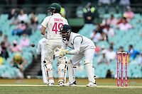 8th January 2021; Sydney Cricket Ground, Sydney, New South Wales, Australia; International Test Cricket, Third Test Day Two, Australia versus India; Manish Pandey of India catches the ball at the wicket