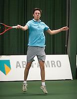 Rotterdam, Netherlands, Januari 28, 2017, ABNAMROWTT, Clubkampioenen, Stefan van Eijkeren<br /> Photo: Tennisimages/Henk Koster