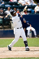 June 22, 2008: The Tacoma Rainiers' Wladimir Balentien at-bat against the Portland Beavers during a Pacific Coast League game at Cheney Stadium in Tacoma, Washington.