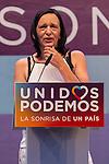 Spanish politician Carolina Bescansa during the closing of the electoral campaign of Unidos Podemos. 24,06,2016. (ALTERPHOTOS/Rodrigo Jimenez)