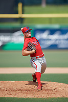 Philadelphia Phillies pitcher Tyler Adams (21) during an Instructional League game against the Toronto Blue Jays on September 17, 2019 at Spectrum Field in Clearwater, Florida.  (Mike Janes/Four Seam Images)