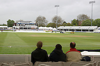 Spectators wait for the start of play at the Ford County Ground as rain falls on Day Three - Essex CCC vs West Indies - Day Three of Tour Match at the Ford County Ground, Chelmsford, Essex -  27/04/09 - MANDATORY CREDIT: Gavin Ellis/TGSPHOTO - Self billing applies where appropriate - Tel: 0845 094 6026