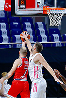 2021.04.02 EuroLeague Real Madrid Baloncesto VS Olympiacos