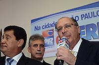 SAO PAULO, 04 DE JUNHO DE 2012 - SERRA PR - O candidato a prefeitura de Sao Paulo, Jose Serra, e o Governador Geraldo Alckmin em reuniao deSAO PAULO, 04 DE JUNHO DE 2012 - SERRA PR -o Governador Geraldo Alckmin em reuniao de apoio politico ao candidato Jose Serra na sede do Partido da Republica. na Avenida Republica do Libano, regiao sul da capital, na tarde desta segunda feira. FOTO: ALEXANDRE MOREIRA - PHOTO PRESS apoio politico na sede do Partido da Republica. na Avenida Republica do Libano, regiao sul da capital, na tarde desta segunda feira. FOTO: ALEXANDRE MOREIRA - PHOTO PRESS