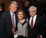 Ed Eubanks with Kathryn and David Berg at the Hotel ZaZa Friday April 11,2008. (Dave Rossman/For the Chronicle)