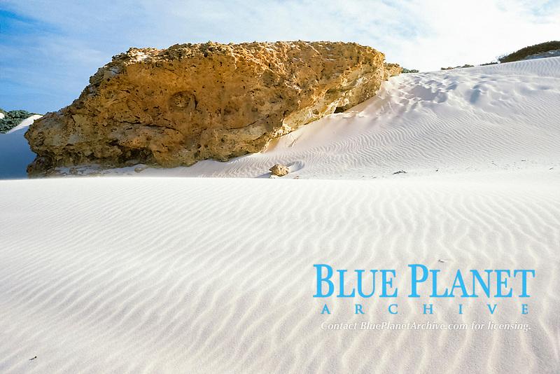 sand dunes at Boca Prins, Aruba, Netherlands Antilles (Dutch Caribbean or Dutch ABC Islands), Atlantic