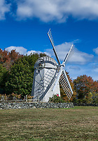 The Jamestown Windmill, Jamestown, Rhode Island, USA.
