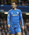 Eden Hazard of Chelsea in action during the Barclays Premiere League match between Chelsea and West Ham United at Stamford Bridge on Sunday March 17, 2013 in London, England Picture Zed Jameson/pixel 8000 ltd.