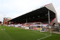 General view of the East Stand during Leyton Orient vs Harrogate Town, Sky Bet EFL League 2 Football at The Breyer Group Stadium on 21st November 2020