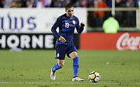 Cary, N.C. - Tuesday March 27, 2018: Jorge Villafaña during an International friendly game between the men's national teams of the United States (USA) and Paraguay (PAR) at Sahlen's Stadium at WakeMed Soccer Park.
