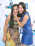 Aubrey Plaza and her sister attends The 2012 Do Something Awards at the Barker Hangar in Santa Monica, California on August 19,2012                                                                               © 2012 DVS / Hollywood Press Agency