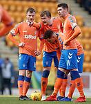 23.12.2018 St Johnstone v Rangers: Joe Worrall points at the goal
