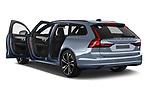 Car images of 2021 Volvo V90-Recharge R-Design 5 Door Wagon Doors