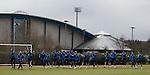 Rangers training at Murray Park
