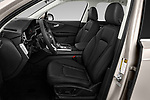 Front seat view of 2020 Audi Q7 Advanced 5 Door SUV Front Seat  car photos