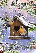 Marcello, CHRISTMAS LANDSCAPES, WEIHNACHTEN WINTERLANDSCHAFTEN, NAVIDAD PAISAJES DE INVIERNO, paintings+++++,ITMCXM2069,#XL#