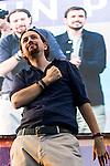 Spanish politician Pablo Iglesias during the closing of the electoral campaign of Unidos Podemos. 24,06,2016. (ALTERPHOTOS/Rodrigo Jimenez)