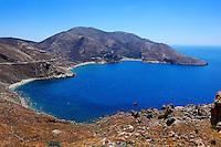 The bay Marmari at cape Tenaro in Mani, Greece