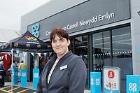 Store manager Nicola Mangan