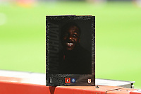 Nnamdi Ofoborh of AFC Bournemouth on the front of the match day programme during AFC Bournemouth vs Wycombe Wanderers, Sky Bet EFL Championship Football at the Vitality Stadium on 15th December 2020