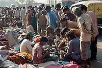 Markt in Old Delhi, Delhi, Indien