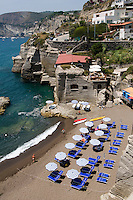 Italien, Ischia, Strand in Sant' Angelo