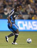 Kei Kamara,.San Jose Earthquakes vs Los Angeles Galaxy, April 4, 2008, in Carson California. The Galaxy won 2-0.