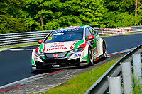 Race of Germany Nürburgring Nordschleife 2016 Free training 2 WTCC 2016 #18 TC1 Honda Racing Team JAS. Honda Civic WTCC Tiago Monteiro (PRT) © 2016 Musson/PSP. All Rights Reserved.